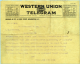 Arthur Bluethenthal: 1918 War Time Telegram