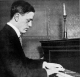Allan Bier at Piano, ca. 1920