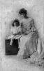 Alice Haas Dannenbaum with daughter, Sadie, 1905