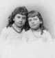 Huldah and Jennie Dannenbaum, ca. 1885